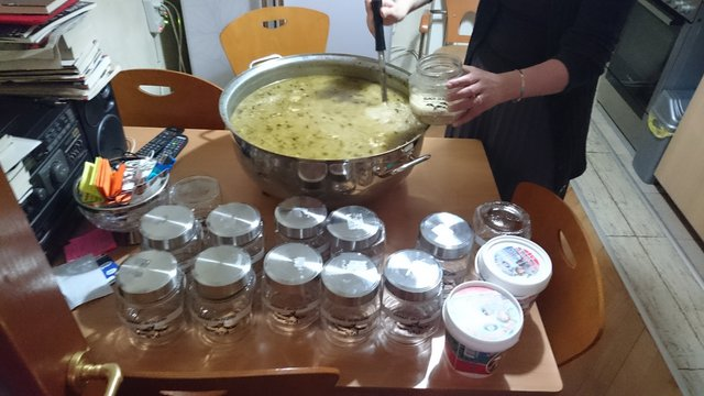 This week (May 30th) Taliko volunteered to cook meal for our beneficiaries. Gracious portions of heartily cooked Soup-Kharcho was gratefully received in each family.
