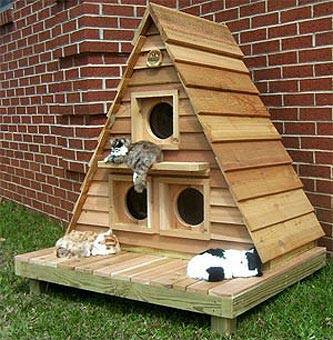 Winter Shelters for Streetcats