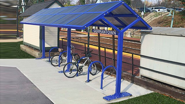 Bicycle-parking - a way to establish a healthy lifestyle